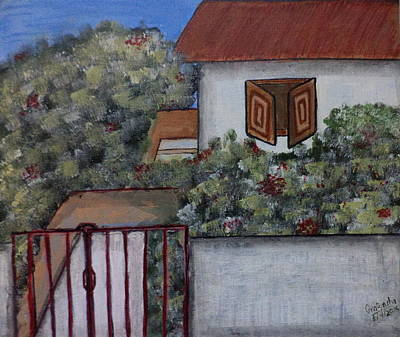 Painting - Home by Pratyasha Nithin