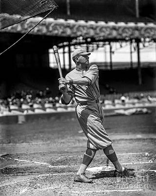 Babe Ruth Vintage Photograph - Home Run Babe Ruth by Jon Neidert