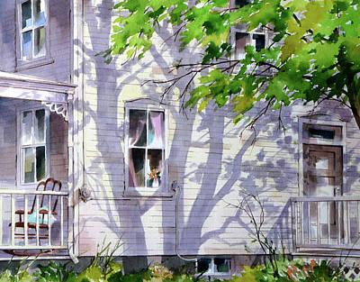 Home Shadows Art Print by Art Scholz