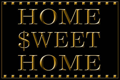 Home Sweet Home 1 Art Print by Andrew Fare
