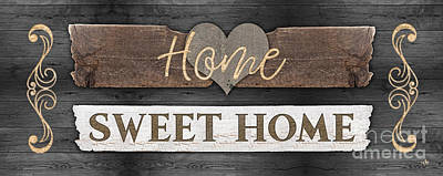 Digital Art - Home Sweet Home 2 by Mo T