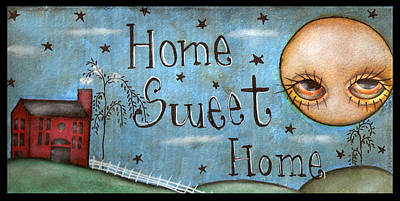 Painting - Home Sweet Home by  Abril Andrade Griffith