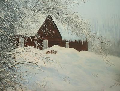 Home Sweet Home Art Print by Bev  Neely