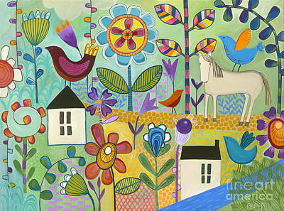 Painting - Home Sweet Home by Carla Bank