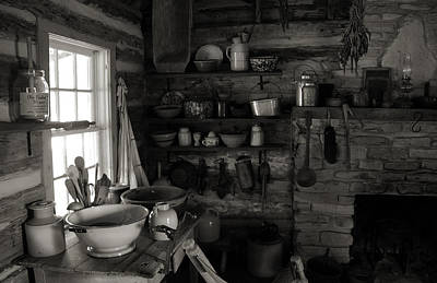 Art Print featuring the photograph Home Sweet Home Kitchen by Joanne Coyle