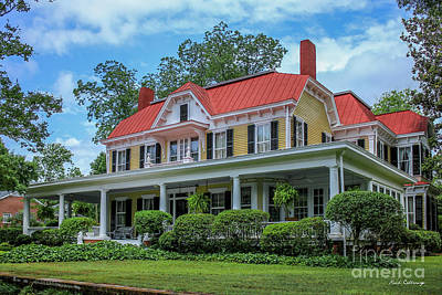 Photograph - Home Sweet Home Madison Georgia Historical Homes Art by Reid Callaway