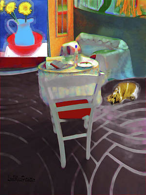 Digital Art - Home Sweet Home Painting 2 by Miss Pet Sitter