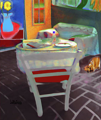 Digital Art - Home Sweet Home Painting 3 by Miss Pet Sitter