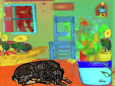 Digital Art - Home Sweet Home Painting 6 by Miss Pet Sitter