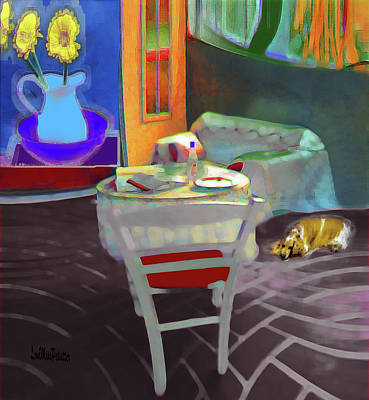 Digital Art - Home Sweet Home Painting by Miss Pet Sitter