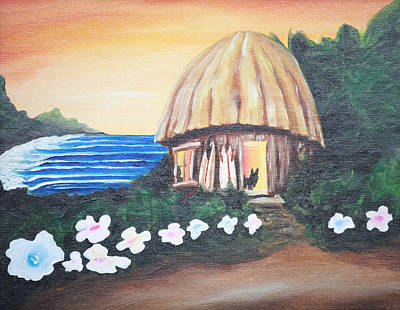 Painting - Home Sweet Home by Ronnie Jackson