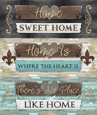 Digital Art - Home Sweet Home Series by Mo T