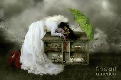 Doll Digital Art - Home Sweet Home by Shanina Conway