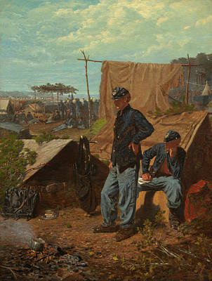 Home-sweet-home Painting - Home, Sweet Home  by Winslow Homer