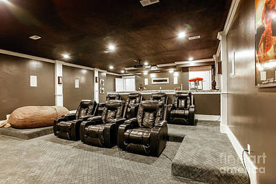 Photograph - Home Theater by Richard Lynch