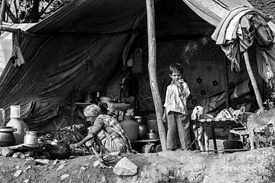 Slums Photograph - Home by Tim Gainey