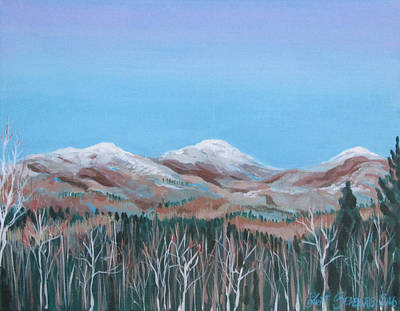 Painting - Home View by Jeff Seaberg