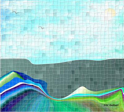 Digital Art - Homeland Mosaic by Iris Gelbart