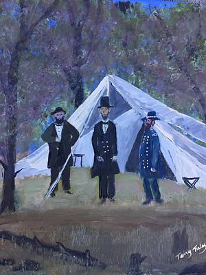 Southern Indiana Painting - Homeland Security by Terry Tuley