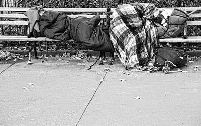 Photograph - Homeless For The Night by Alice Gipson