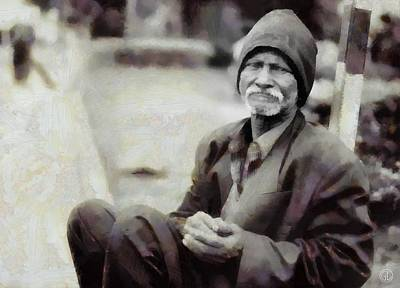 Digital Art - Homeless II by Gun Legler