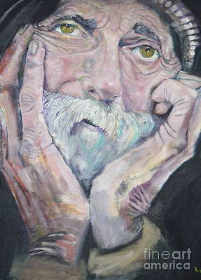 Painting - Portrait Of A Man by Kevin McKrell