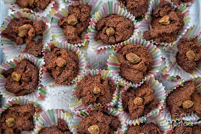 Photograph - Homemade Chocolate Pralines by Patricia Hofmeester