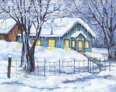 Painting - Homeplace by Peggy Wilson