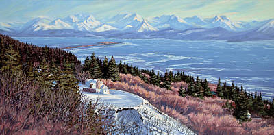 Painting - Homer Bluff by Kurt Jacobson