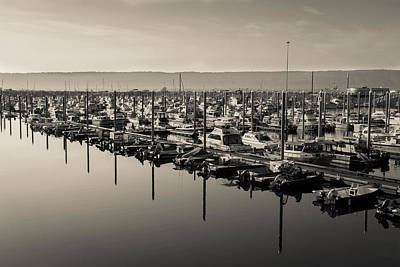 Photograph - Homer Spit Marina by David Warrington
