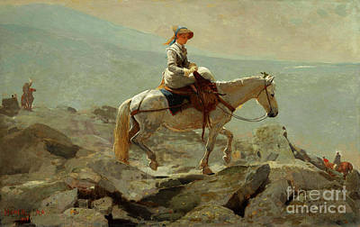 Painting - Homer, The Bridle Path, 1868 by Granger