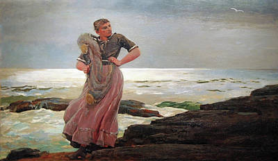 Prout's Neck Photograph - Homer's A Light On The Sea by Cora Wandel