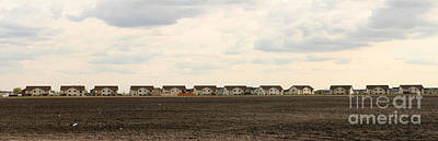 Photograph - Homes On The Prairie by Steve Augustin