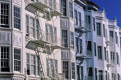 Photograph - Homes Townhouses In The Marina  by Jim Corwin