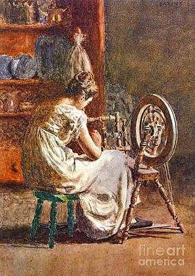 Photograph - Homespun 1881 by Padre Art
