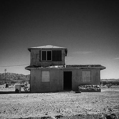 Fineart Wall Art - Photograph - Homestead 1 In #29palms  One Of The by Alex Snay