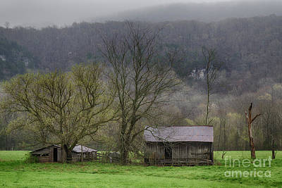 Photograph - Homestead by David Cutts