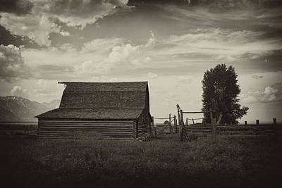 Wyoming Photograph - Homestead by Hugh Smith