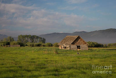 Photograph - Homestead by Idaho Scenic Images Linda Lantzy