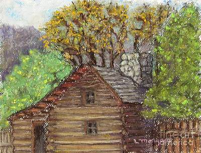 Painting - Homestead by Laurie Morgan