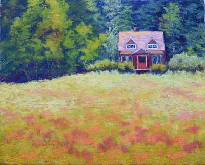 Painting - Homestead by Nancy Jolley