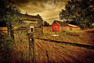 Photograph - Homestead Palouse by Dale Stillman