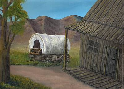 Painting - Homestead by Sheri Keith