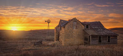 Homestead Sunrise Art Print