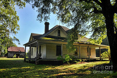 Photograph - Homestead Two by Randy Rogers