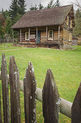 Photograph - Caleb Pike Homestead 2 by Marilyn Wilson