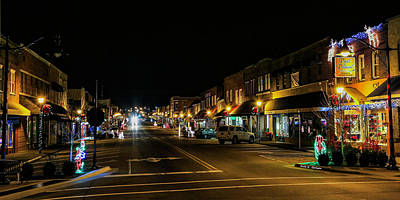 Photograph - Hometown Christmas Spirit by Bluemoonistic Images