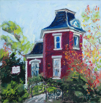 Painting - Hometown Treasure by Mary Benke