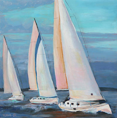 Painting - Homeward Bound by Trina Teele