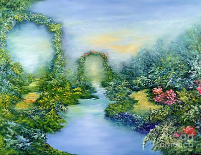 World Peace Painting - Homeward Journey by Hannibal Mane
